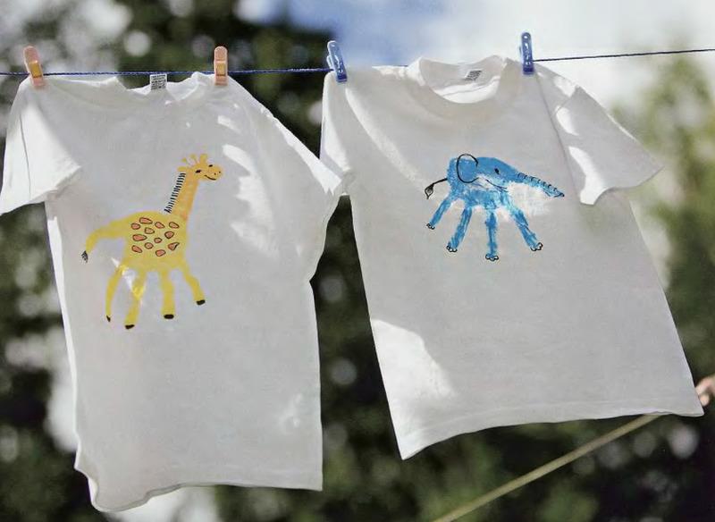 Как украсить детскую футболку мастер класс